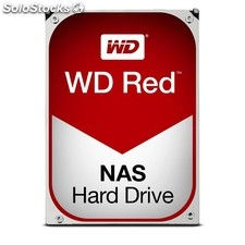 "Disco duro interno hdd wd western digital para nas red WD80EFZX 8TB 3.5"" 5400RPM"