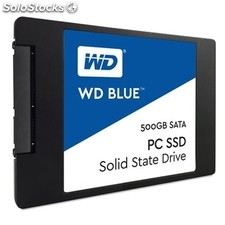 "Disco duro interno solido hdd ssd wd western digital blue 500GB 2.5"" sata 6 gb/s"