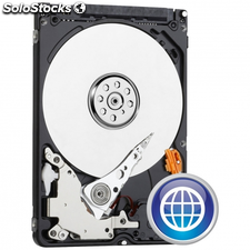 "Disco duro interno WESTERN DIGITAL scorpio blue 1tb sata2 2.5"" / 6.35cm 64mb"