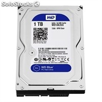 Disco duro interno western digital WD10EZEX 1TB SATA3 64MB Blue