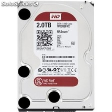 Disco duro interno western digital WD20EFRX 2TB SATA3 64MB Red