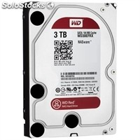 Disco duro interno western digital WD30EFRX 3TB SATA3 64MB Red