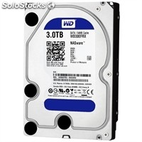 "Disco duro interno western digital WD30EZRZ 3TB 3.5"" 5400rpm Sata3 64MB"