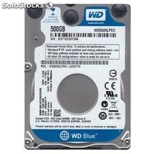 "Disco duro interno western digital WD5000LPCX 500GB 2.5"" 5400rpm Sata 3"