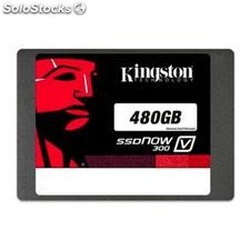 "Disco Duro Kingston SSDNow SV300S37A 2.5"" ssd 480 GB Sata iii"
