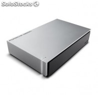 Disco duro lacie 4TB porsche 3.5 usb 3.0 light-grey