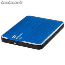 Disco duro portátil 2 TB WD My Passport Ultra azul