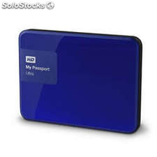 Disco duro portátil 3 tb western digital My Passport Ultra Azul -