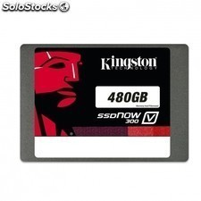 "Disco duro solido KINGSTON ssdnow v300 - 480gb - sata3 - 2.5"" / 6.35cm"