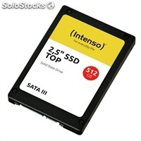 "Disco duro ssd intenso 3812450 Top 512GB 2.5"" Sata3"