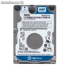 "Disco Duro Western Digital Blue WD5000LPCX 2.5"" 500 GB Sata iii 5400 rpm Buffer"