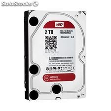 "Disco Duro Western Digital Red WD20EFRX 3.5"" 2 tb Sata iii 5400 rpm Buffer 64 mb"