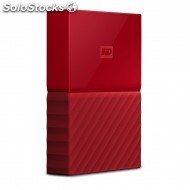 Disco duro western WDBYFT0030BRD-wesn my passport 3TB red worldwide