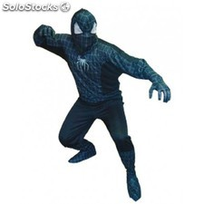 Disfraz Spiderman negro adulto XXL