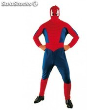 Disfraz Spiderman rojo adulto XXL