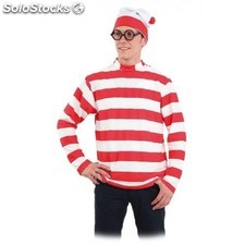 Disfraz Wally, camiseta y gorro XL