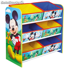 Disney Estantería de Mickey Mouse 51x23x60 cm WORL119011