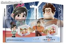 Disney infinity wreck-it ralph and vanellope double pack box set