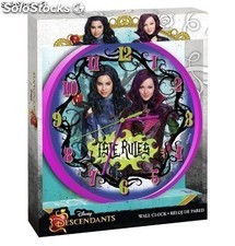 Disney WD16745 Reloj de Pared Descendants