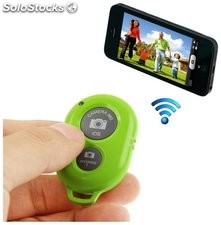 Disparador bluetooth de fotos/videos para smartphone ll-am-111-verde