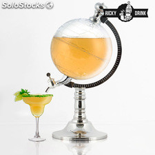 Dispensador de Bebidas Ricky Drink Globe