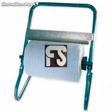 Dispensador de bobinas industrial para pared.