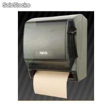 Dispensador de toalla en rollo manual negro & blanco