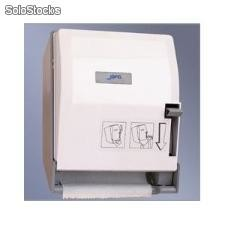 Dispensador toalla en rollo palanca matic blanco