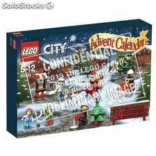 Display cal. Avent lego city