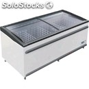 Display chest refrigerator - series: polarispt - manual defrost - ventilated