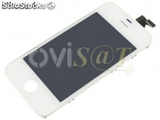 Display con pantalla tactil para iphone 4 color Blanca (LCD + Digitalizador) 8GB