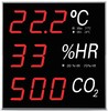 Display / indicador temperatura, humedad y CO2, especial para piscinas y spa