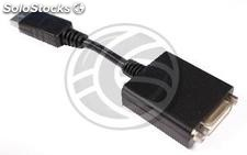 DisplayPort Adapter DVI-D male to female cable 20 cm (YP44-0002)