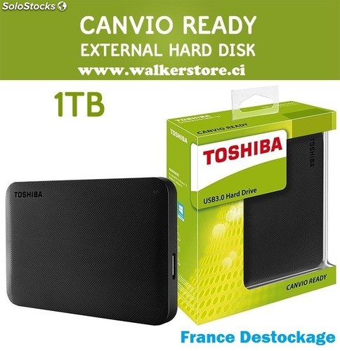 disque dur externe toshiba 1 tera. Black Bedroom Furniture Sets. Home Design Ideas