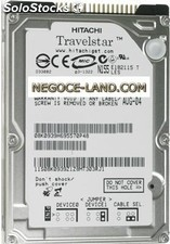 Disque Dur ide 2.5'' Hitachi Travelstar 40 Go (IC25N040ATMR04-0)