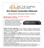 DLI Power Controller Ethernet Redundant Ethernet Power Switch