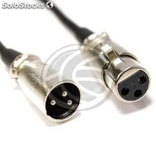 DMX512 dmx Cable xlr 3pin 3pin xlr male to female 20m (XN07)