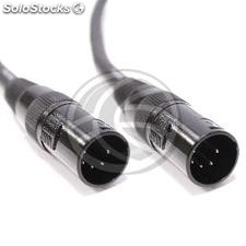 DMX512 dmx Cable xlr male to xlr 5pin 5pin Male 2m (XN33)