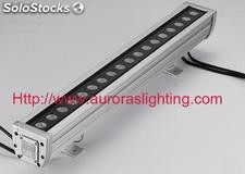 Dmx512 led de pared lavadora rgb
