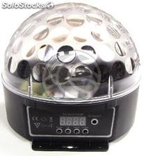 DMX512 rgb led light ball glass (XF43)
