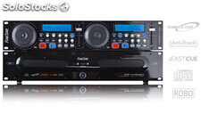 Doble reproductor profesional CD/MP3 dj de sobremesa fonestar CD-4400DJ