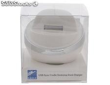 dock iphone 5 usb sync cradle dock cargador