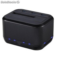 Dock station doble sata 2.5/3.5 tooq usb 3.0