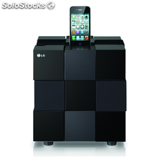 Dock station ND8520 cubo ipod/pad airplay 80W bl