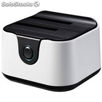 Dock station tooq tqds-802BW Docking Station Doble Bah