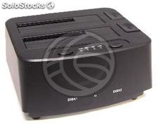 Docking Station con usb 3.0 e sata 2 hdd (HS31)