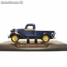 Dodge pickup 1936 azul escala 1/32 new ray coche metal miniatura