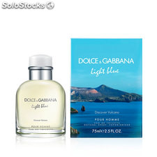 Dolce & Gabbana - light blue homme vulcano edt vapo 75 ml