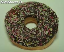 Donut Rellena Chocolate Decorada