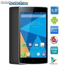 "DOOGEE DG580 5.5 ""pulgadas MT6582 Quad Core 1.3 Ghz Android 4.4 1GB RAM + 8GB"